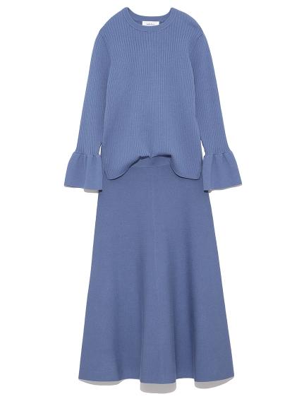 羅紋針織衣裙組