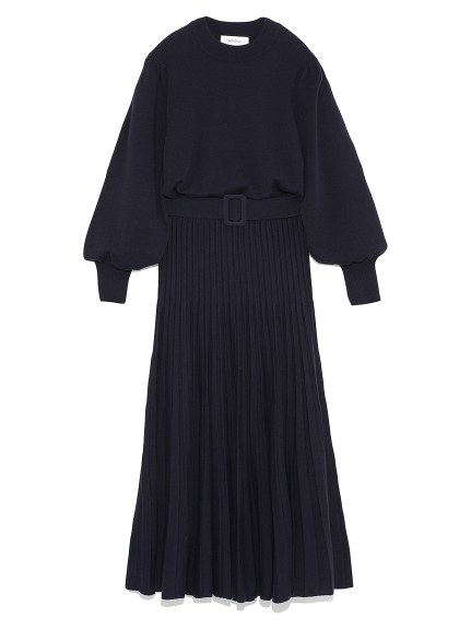 針織長裙兩件式套裝