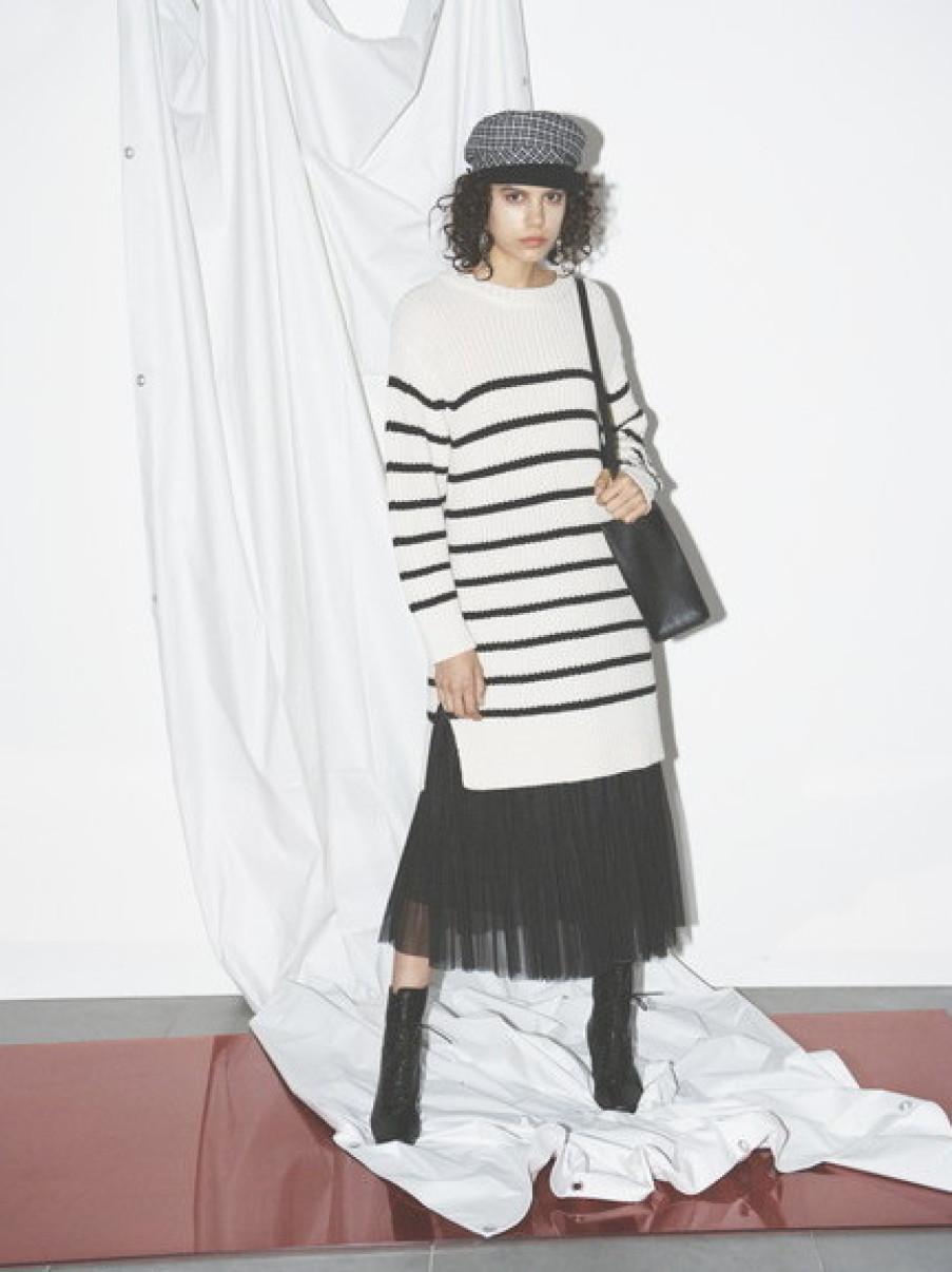 針織紗裙兩件式洋裝