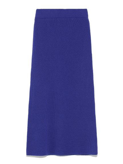 羊毛針織長裙