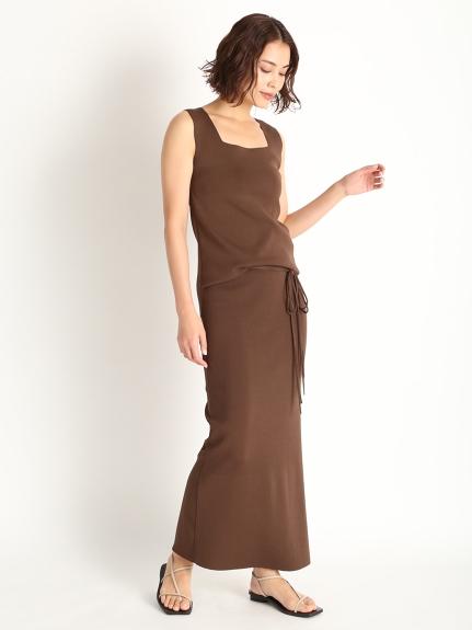 2way開衩針織長裙