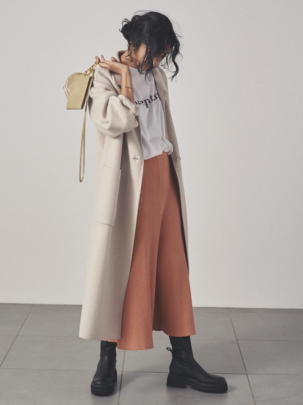 羅紋針織窄裙
