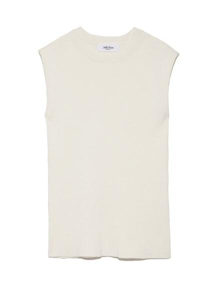 純色有機棉針織背心