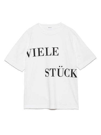文字印花t-shirt