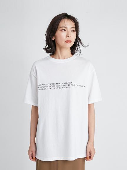 文字T-Shirt