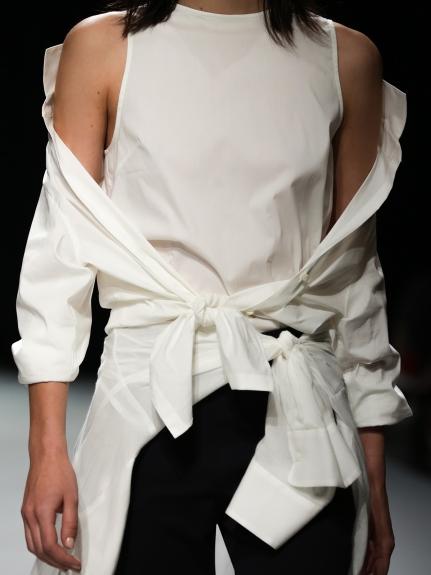 設計感層次造型襯衫