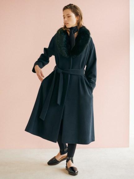 毛料傘狀大衣