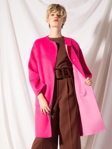 雙面羊毛大衣