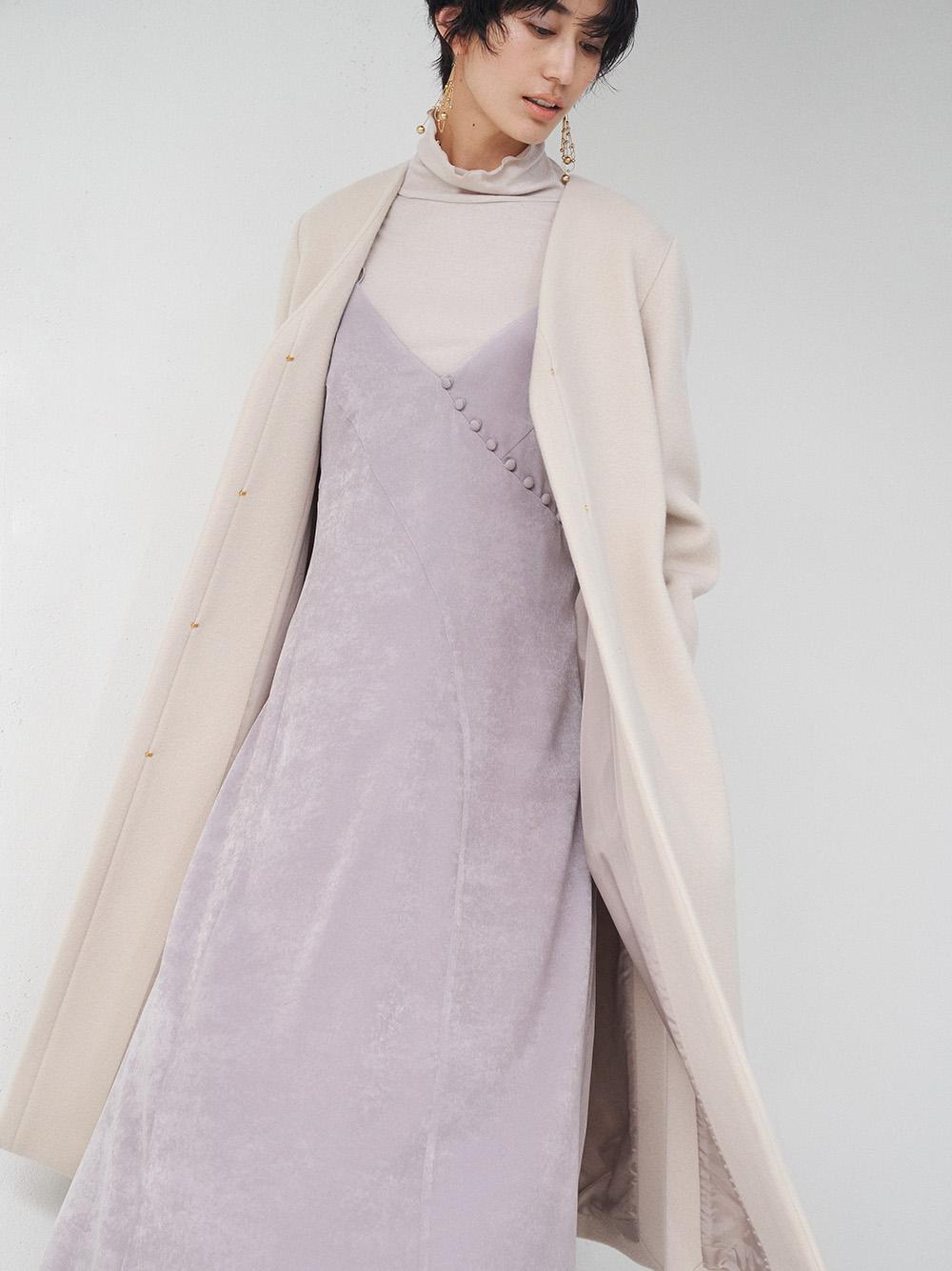 義大利MANTECO羊毛無領大衣