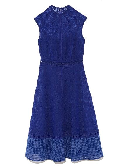 氣質歐根紗蕾絲洋裝