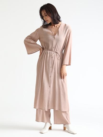 嫘縈楊柳長袍連身裙