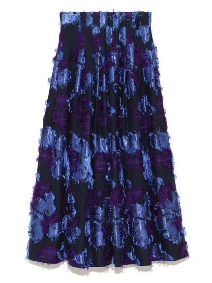 立體緹花設計感長裙
