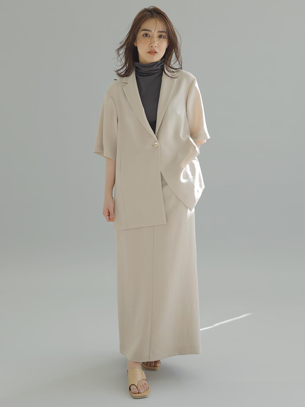 嫘縈窄版長裙