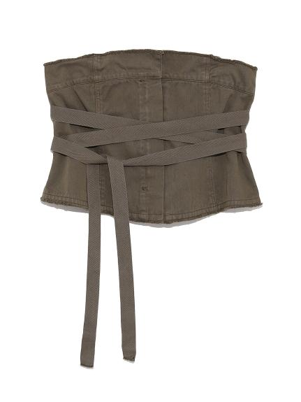純色綁帶造型腰封