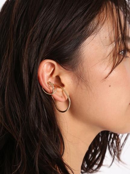 曲線型耳骨環