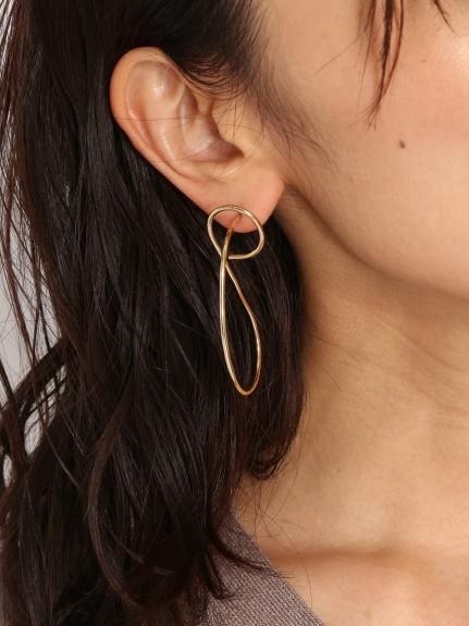 彎曲型耳環