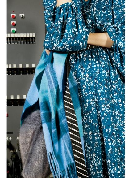 格紋羊毛圍巾