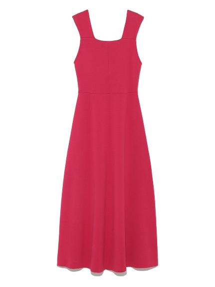 純色背心洋裝