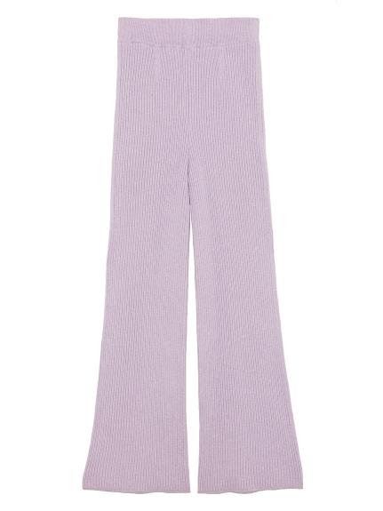 羅紋針織長褲