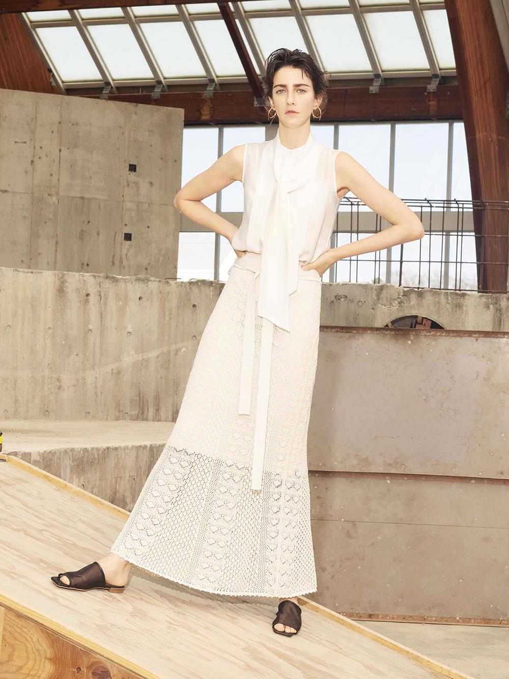 編織窄版魚尾裙