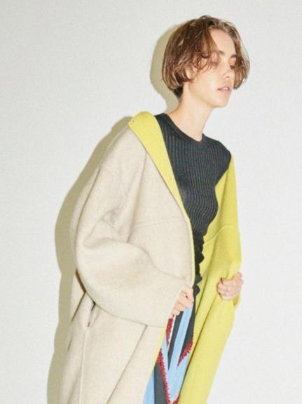 金蔥羅紋薄針織上衣