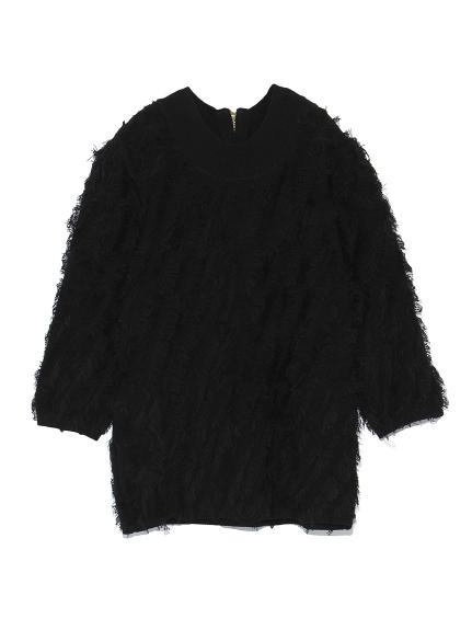 毛海針織上衣
