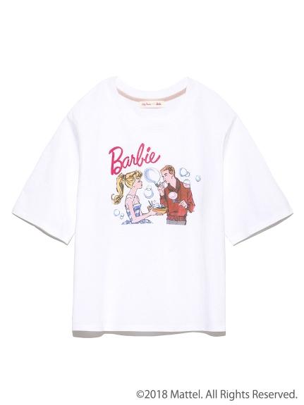【Barbie聯名】泡泡印花T