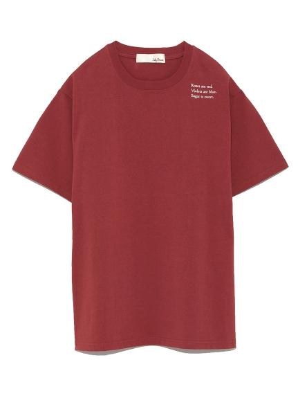 字母印花T shirt
