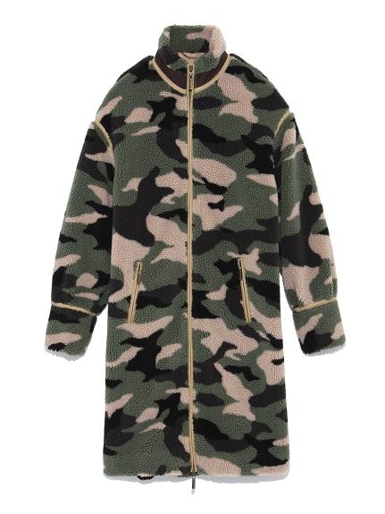 羊羔絨長版外套大衣