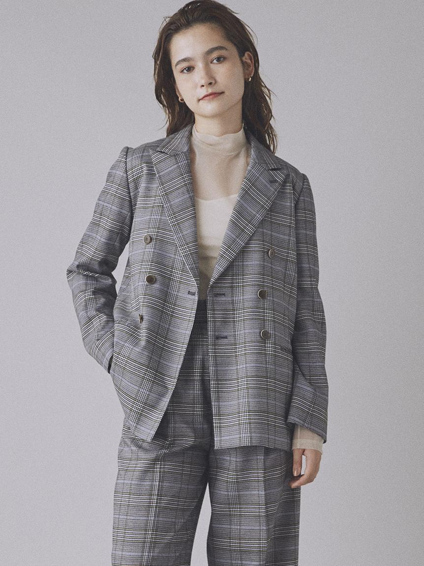 雙排釦西裝外套