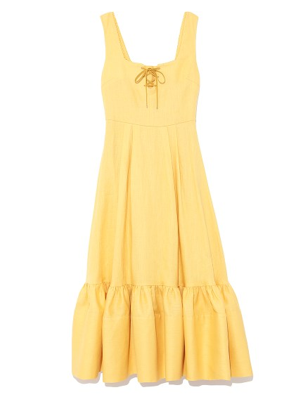 夏日亞麻連身裙