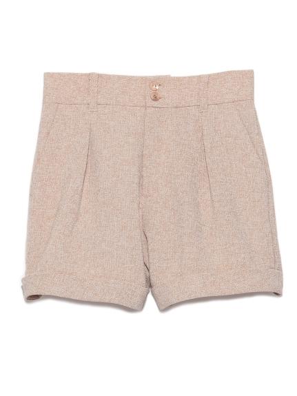 粗花呢短褲
