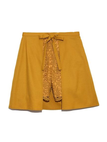蕾絲組合褲裙