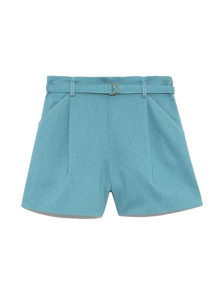 設計細腰帶短褲