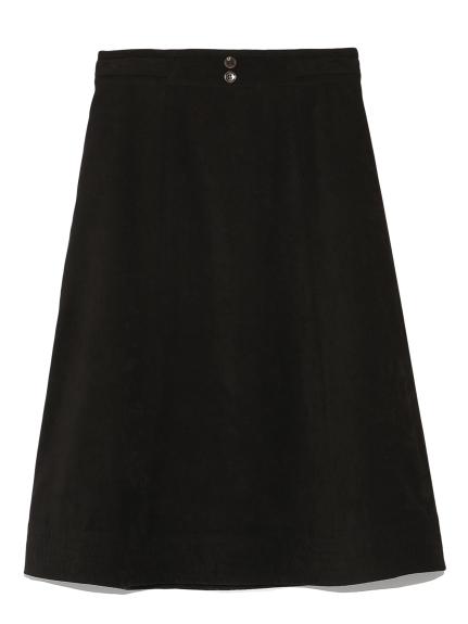 純色腰帶造型及膝裙