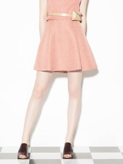 金蔥感荷葉短裙