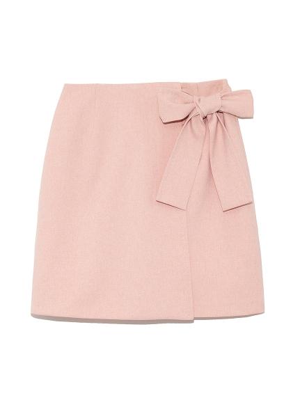 側綁結設計感短裙