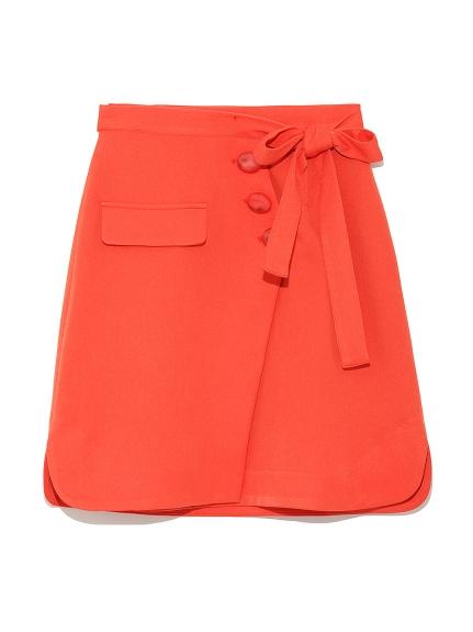 蝴蝶結綁帶短裙