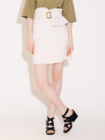 腰封造型緊身短裙