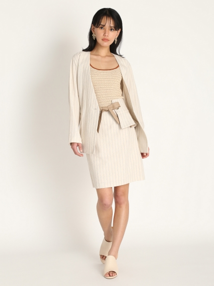 腰部裝飾短裙