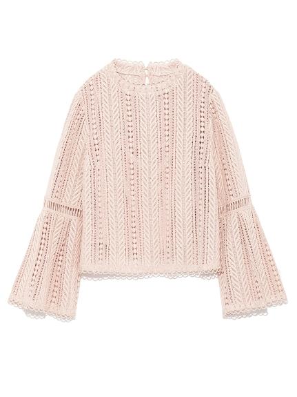 甜美簍空蕾絲造型上衣