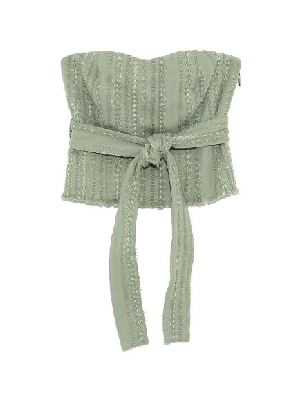 編織模樣馬甲上衣