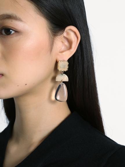 寶石組合耳環