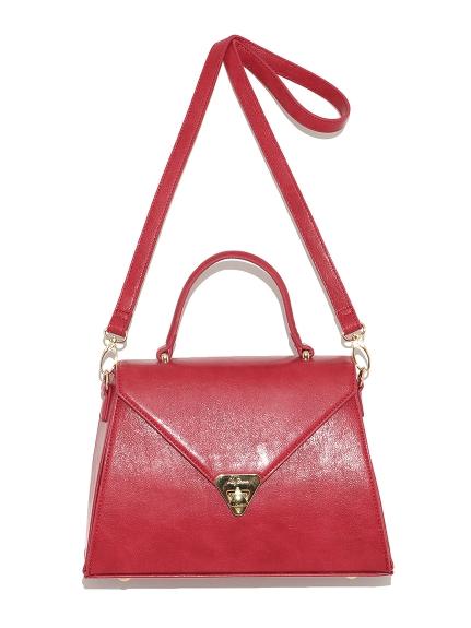 素雅梯型手提包