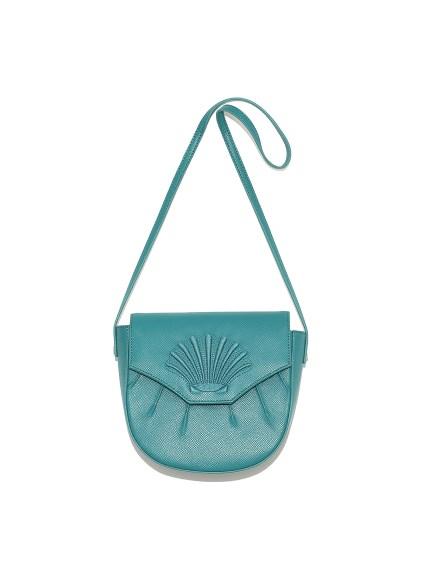 貝殼刺繡肩背小包