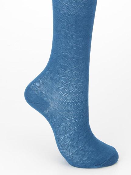 薄透織紋絲襪