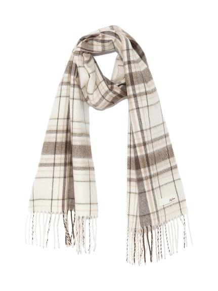 格紋造型圍巾