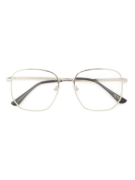 金屬框方形眼鏡