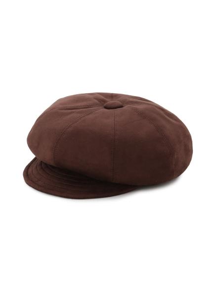 絨面質感報童帽