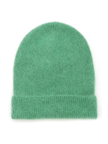 毛絨絨感針織帽